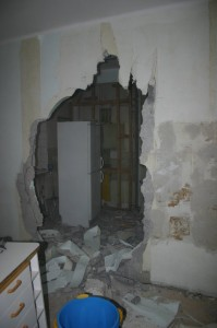 seinän purku