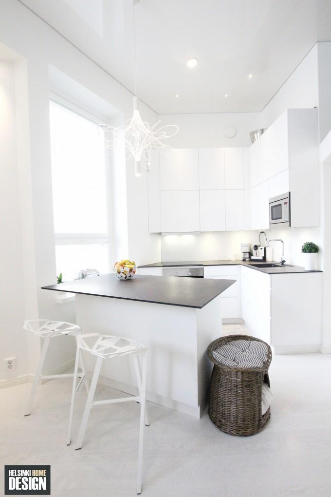 Pieni ja toimiva keittiö